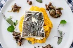 Cena della farina di pesce Immagine Stock Libera da Diritti