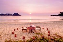 Cena di tramonto Fotografia Stock