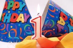 Cena do aniversário Fotografia de Stock