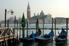 Cena do canal grande, Veneza, Italy Imagens de Stock Royalty Free