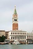 Cena do canal grande, Veneza, Italy Imagem de Stock