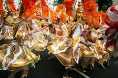 Cena do carnaval de Notting Hill Fotografia de Stock Royalty Free