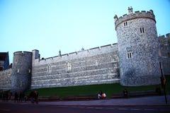 Cena do castelo de Windsor Foto de Stock