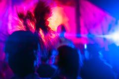 Cena do clube nocturno Fotografia de Stock Royalty Free