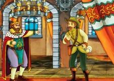Cena do conto de fadas para histórias diferentes Imagens de Stock Royalty Free