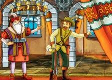 Cena do conto de fadas para histórias diferentes Imagem de Stock Royalty Free