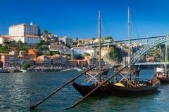 Cena do dia de Porto, Portugal fotos de stock royalty free