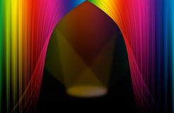 Cena do espectro Imagem de Stock Royalty Free