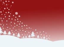 Cena do inverno Imagens de Stock