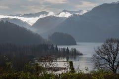 Cena do lago austria Fotografia de Stock