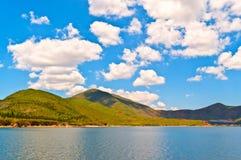 Cena do lago Erhai. Imagem de Stock