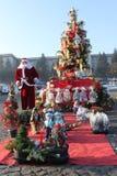 Cena do Natal Fotos de Stock Royalty Free