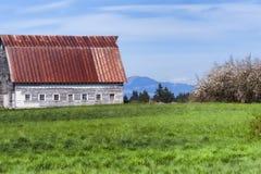 Cena do país em Washington State rural fotos de stock royalty free
