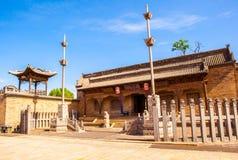 Cena do parque do solar de Chang. O salão ancestral de Chang. Fotografia de Stock