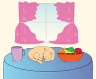 Cena do pequeno almoço Imagem de Stock Royalty Free