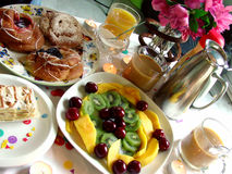Cena do pequeno almoço Imagens de Stock