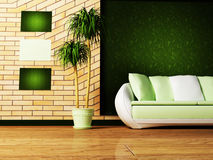 Cena do projeto interior Fotos de Stock