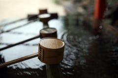 Cena do templo de Japão Imagens de Stock Royalty Free