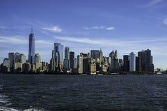 Cena dramática da cidade em New York imagem de stock royalty free