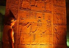 Cena e roteiro egípcios imagens de stock royalty free