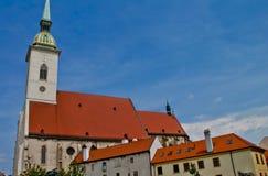 Cena em Bratislava, Eslováquia Imagem de Stock Royalty Free