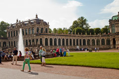 Cena em Dresden, Alemanha Imagens de Stock Royalty Free