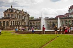 Cena em Dresden, Alemanha Fotos de Stock