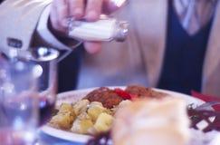 Cena en la casa 6 de Pogor Fotos de archivo