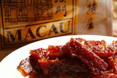 Cena espasmódica da carne de porco Imagem de Stock