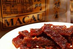 Cena espasmódica da carne de porco Imagens de Stock Royalty Free