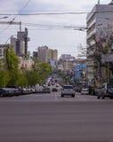 Cena genérica da rua Imagem de Stock
