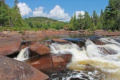 Cena impressionante da natureza em Ontário do norte imagem de stock