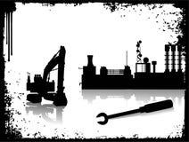 Cena industrial Imagens de Stock