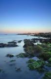 Cena litoral Foto de Stock