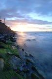 Cena litoral Imagem de Stock