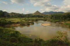 Cena maravilhosa da natureza em Chiangmai Imagens de Stock