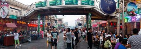 Cena normal da rua de Zhongwei Foto de Stock