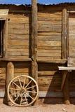 Cena ocidental velha do tema Imagem de Stock