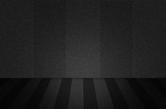 Cena ou fundo preto da textura Imagens de Stock