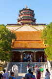 Cena-pavilhão do palácio de verão do incenso budista Foto de Stock Royalty Free