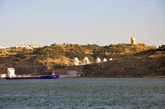 Cena portuguesa do destino Foto de Stock Royalty Free
