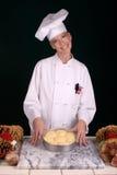 Cena Rolls del cocinero de pasteles Imágenes de archivo libres de regalías