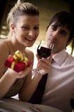 Cena romántica Fotografía de archivo libre de regalías