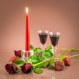 Cena romantica Immagine Stock