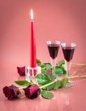 Cena romantica Immagini Stock