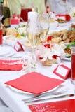 Cena sabrosa Foto de archivo libre de regalías