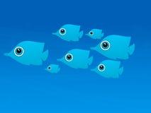 Cena subaquática Fotografia de Stock