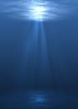 Cena subaquática ilustração do vetor