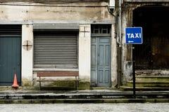 Cena urbana de Grunge Fotografia de Stock Royalty Free