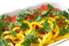 Cena vegetal Foto de archivo
